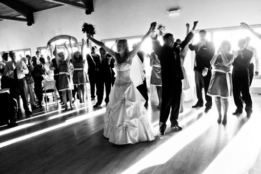 Reception dance floor – Photo credit Rick Bacmanski Photo Artistry