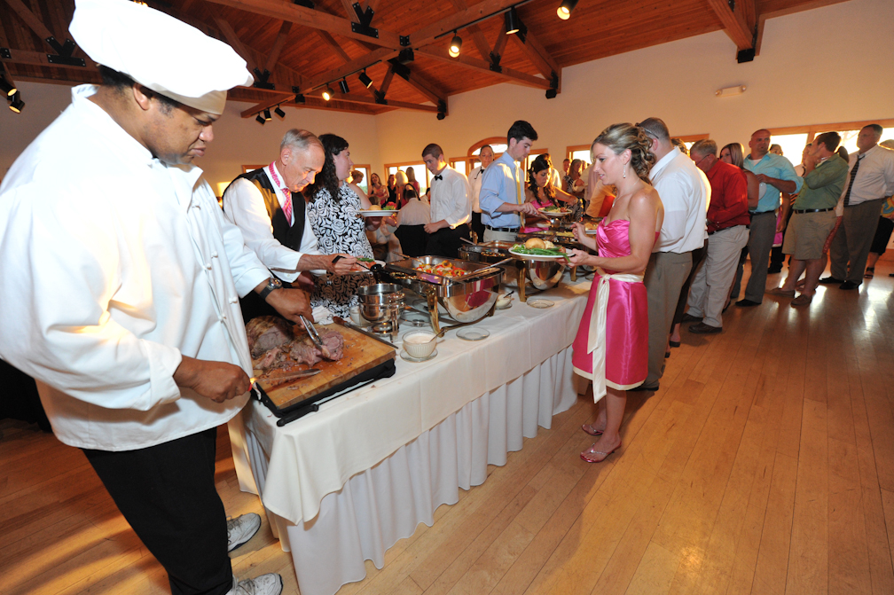 Buffet Line - Photo credit Rick Bacmanski Photo Artistry