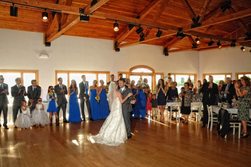 Beautiful reception facility – Photo credit Baker Photography