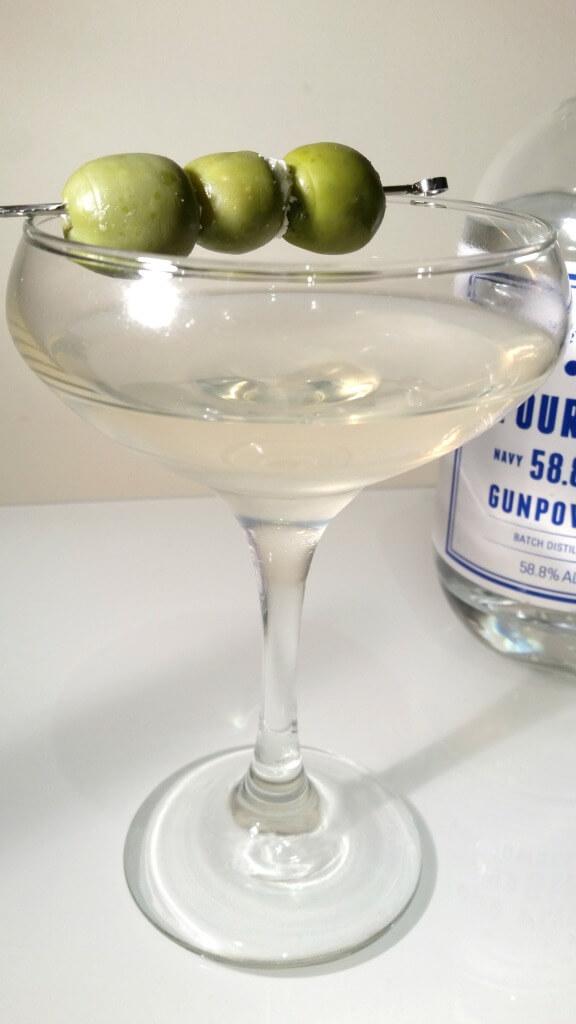 four-pillars-gunpowder-strength-dirty-martini