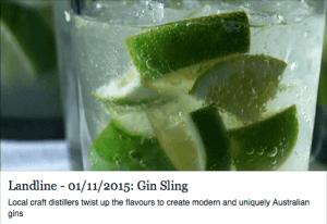 Landline Gin Sling