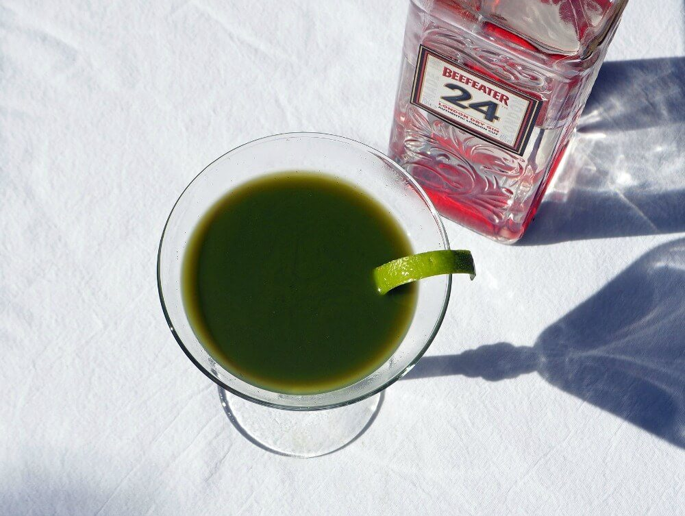 3 matcha gin cocktails for you to try