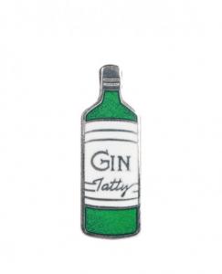 Tatty Devine Gilbert & George Gin Brooch