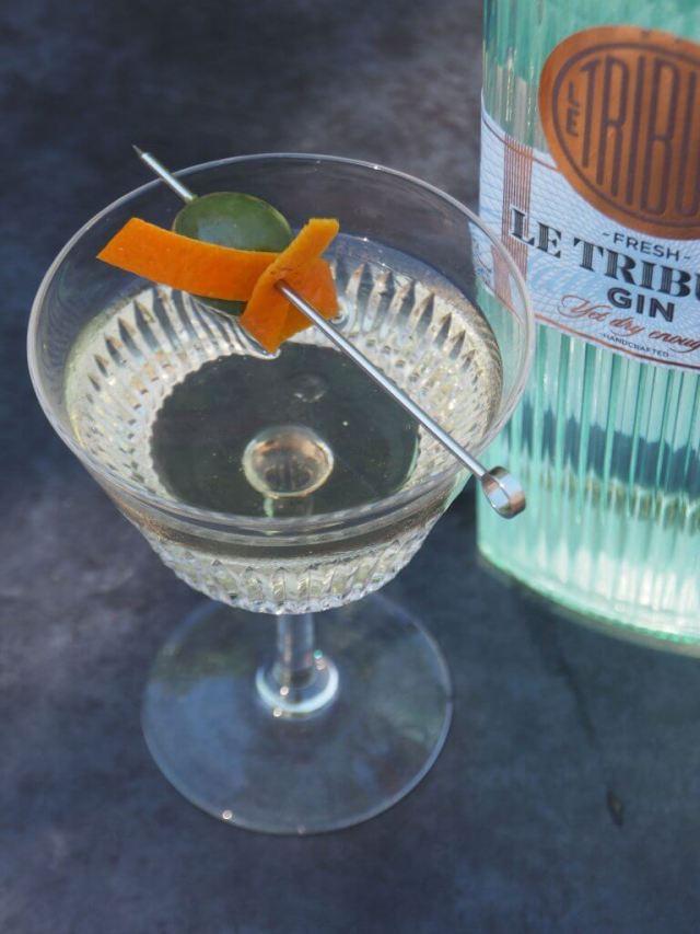 Le Tribute gin martini