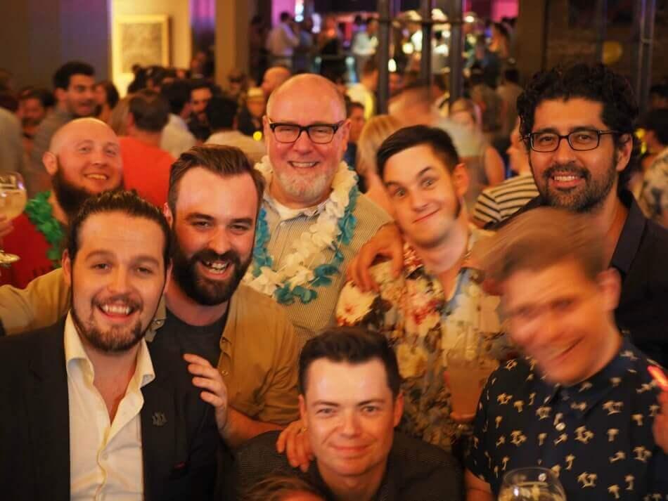 The motley Australian crew