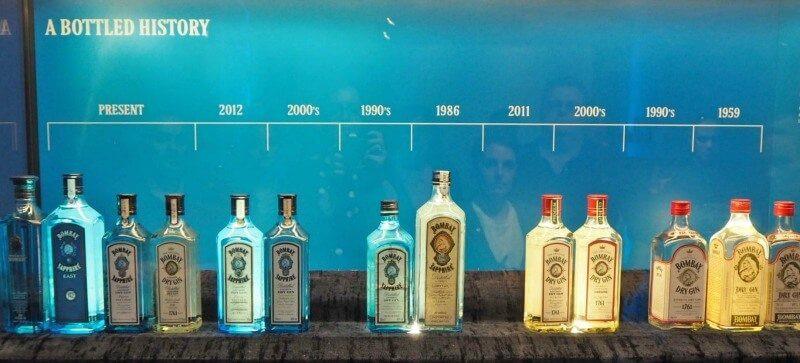 History of Bombay Gins