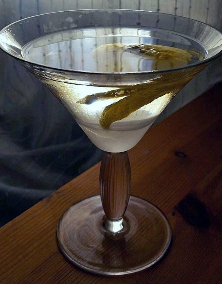Can-can martini