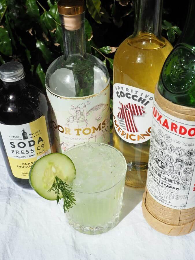 Dillionaire cocktail ingredients