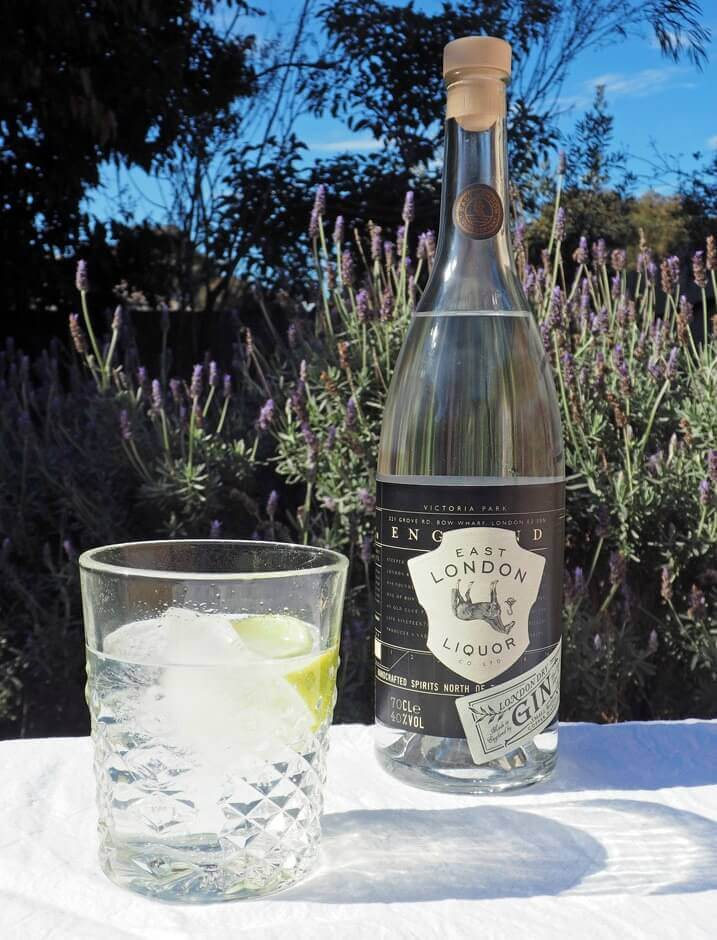 East London Liquor Company Dry Gin and Tonic