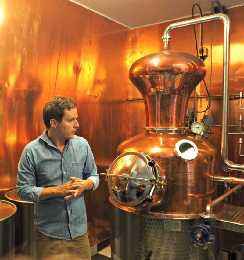 Hernö gin distillery