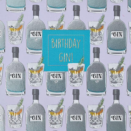 Birthday Gin!