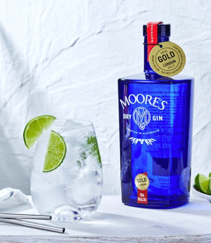 Moore's Dry gin