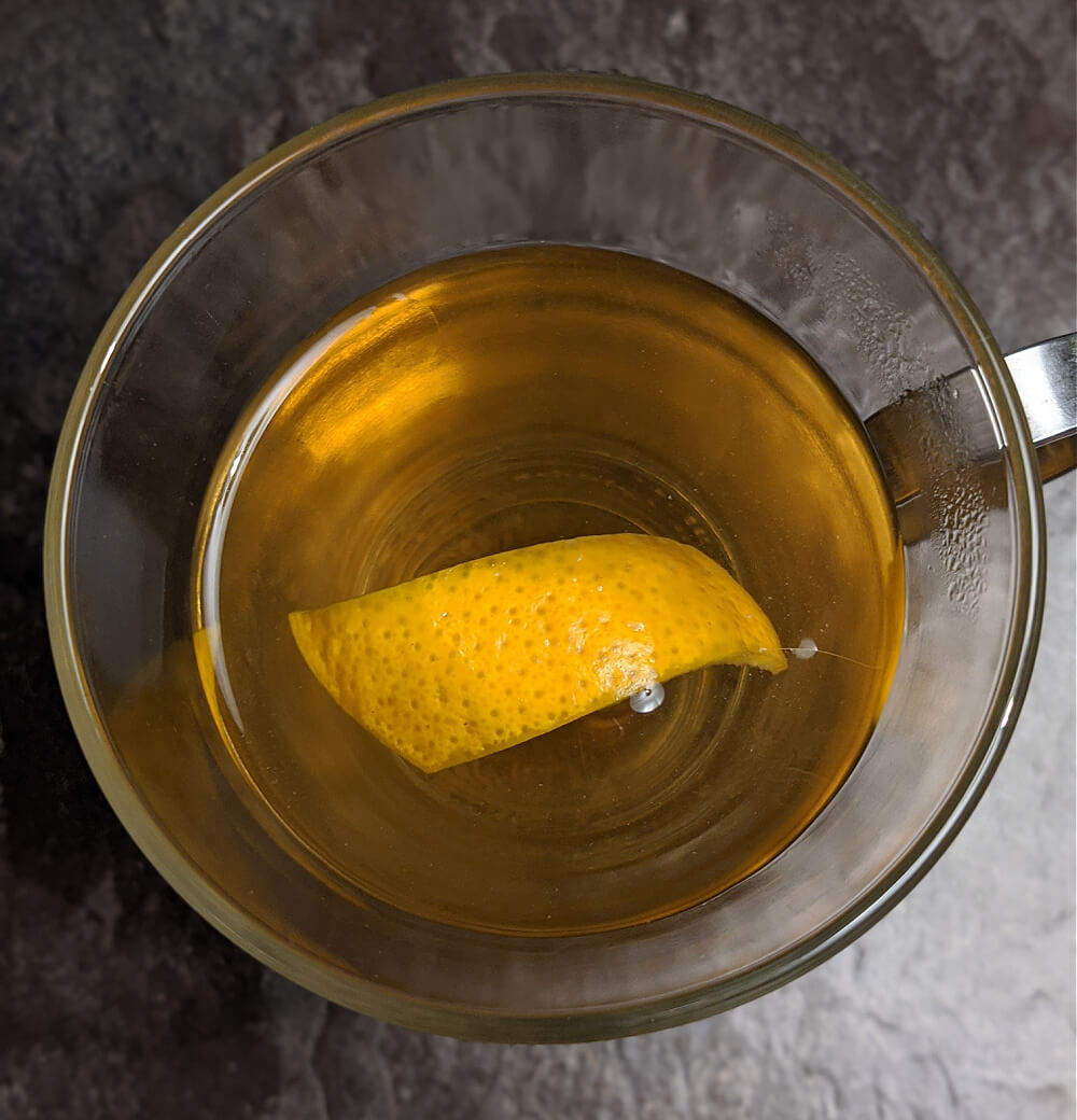 Chamomile, Lemon & Gin Hot Toddy