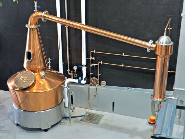 Dasher and Fisher Gin Still