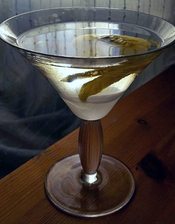 Can-can martini
