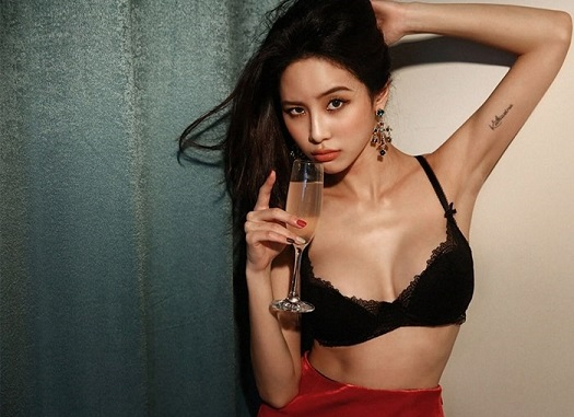 Korean hotgirl Ju Woo mô hình đồ lót ảnh nóng khỏa thân gái xinh sexy