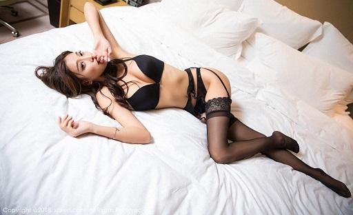 Yang Chen Chen sexy hot girl ảnh nóng gái xinh khỏa thân HappyLuke