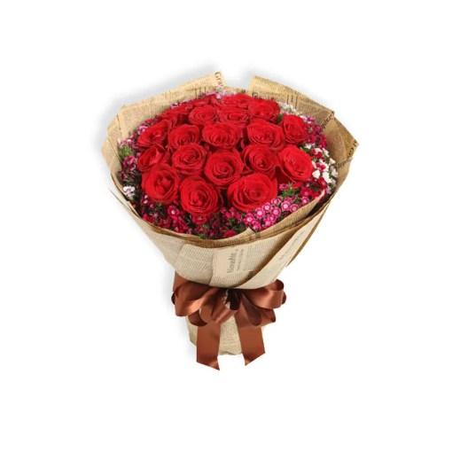 Bó hoa hồng đỏ - Tình Yêu Thăng hoa