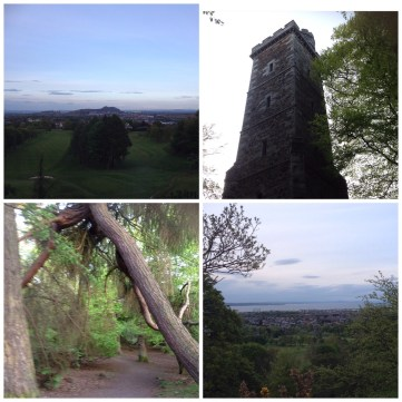 A walk up Corstorphine Hill