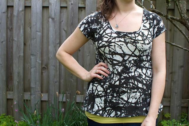 Free Scoop Shirt Pattern