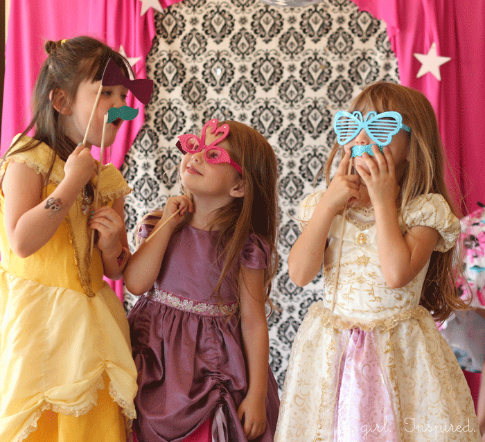 Princess and the Popstar Birthday Party