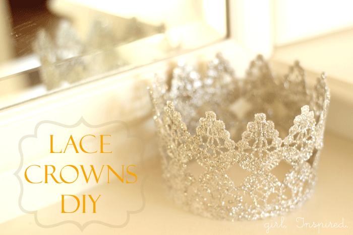 Lace Crown DIY - so cute!!