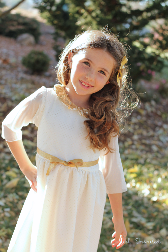 FREE sleeve pattern for the dresses in 5&10 Designs eBook