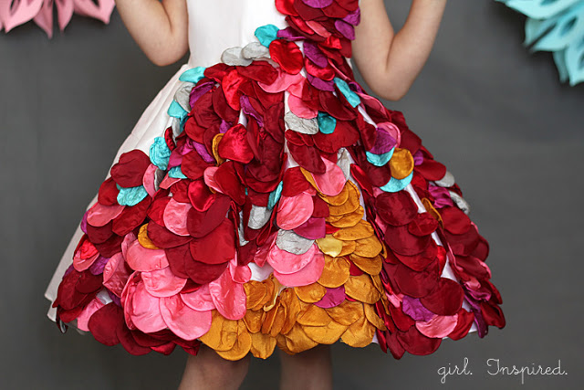 art inspired gown