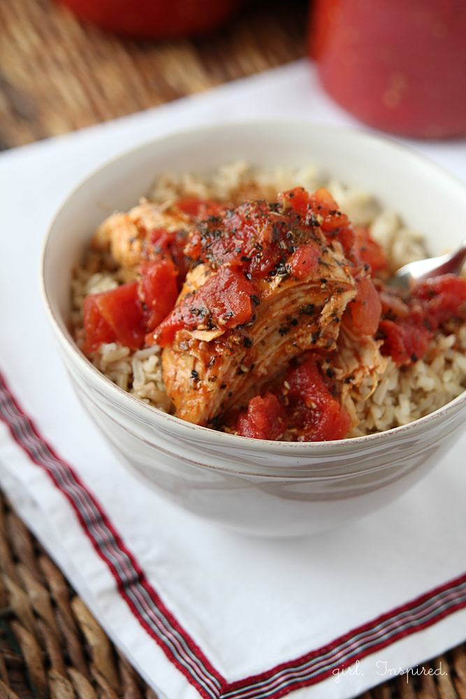 Chicken Cacciatore - hearty and delicious, perfect comfort food