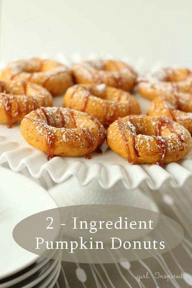 20 Pumpkin Dessert Recipes - Pumpkin-Donuts