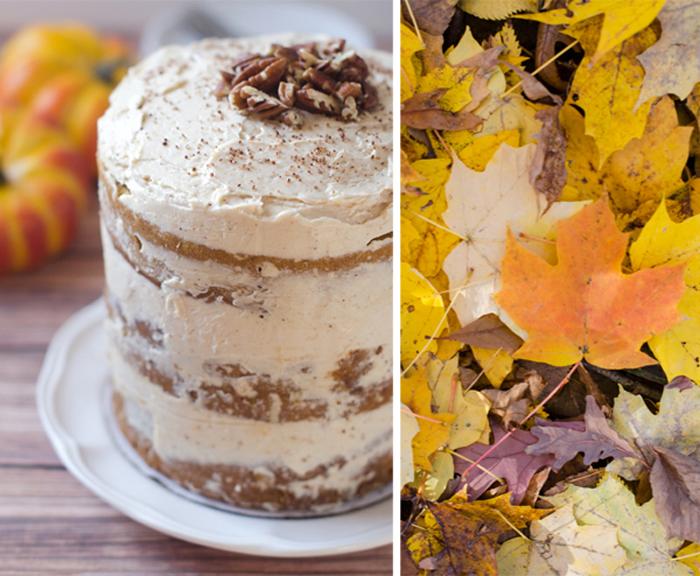 Pumpkin Desserts - Pumpkin Layer Cake
