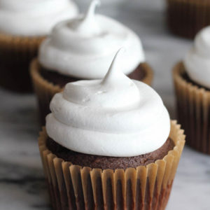White Mountain Frosting - great non-dairy alternative for a fluffy, glossy frosting!