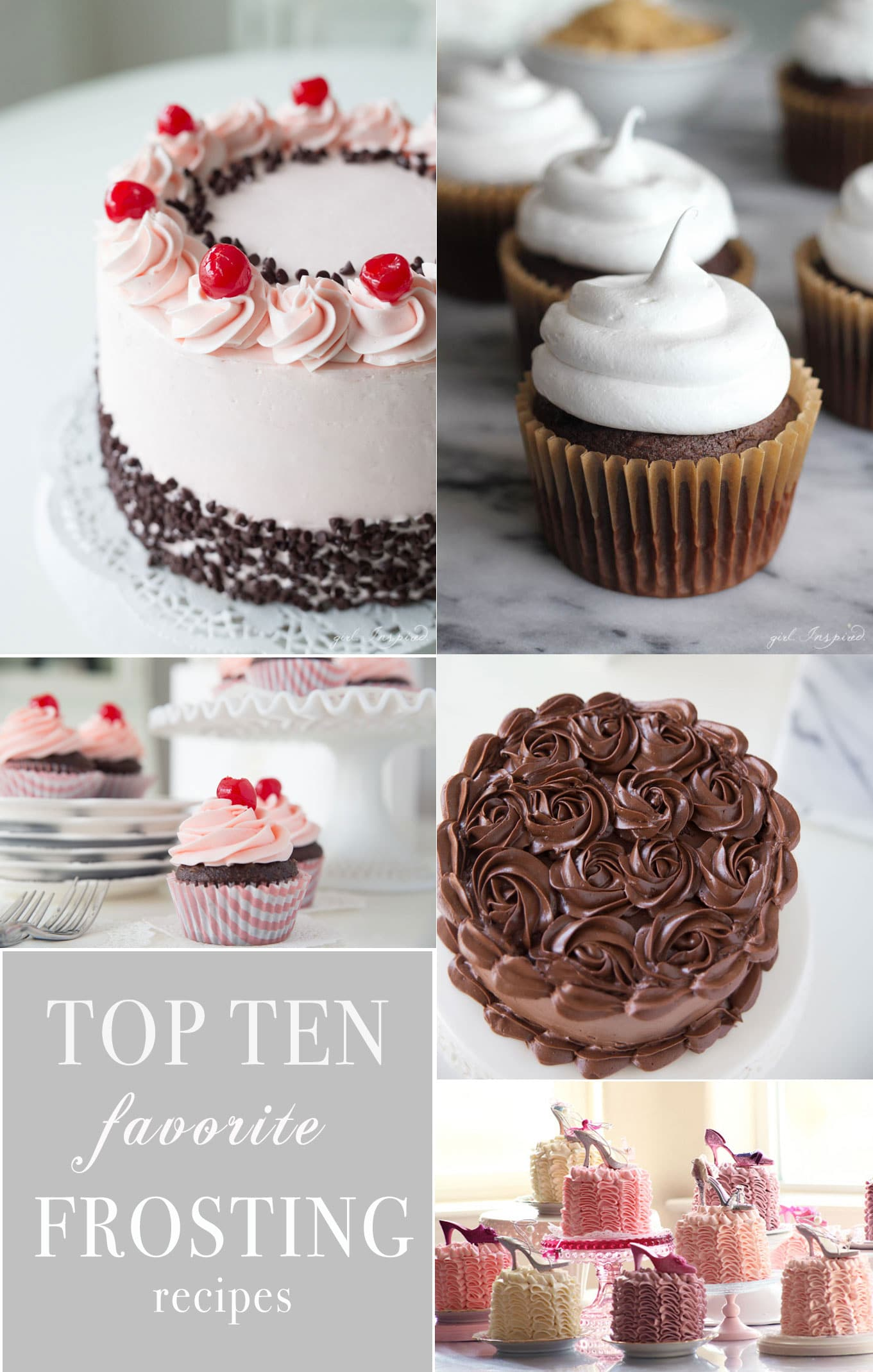 cake decorating recipes Archives   girl  Inspired  The 10 BEST Frosting recipes for every cake and style