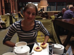 Afternoon tea and scones