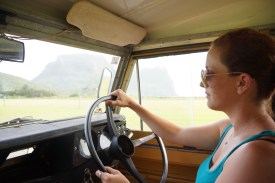 "Driving the Land Rover Series II ""Matilda"""