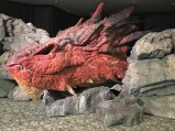 Smaug at the Wellington Airport
