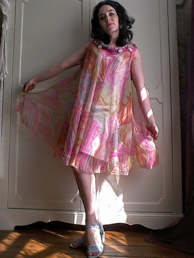 Floaty psychedelic dress