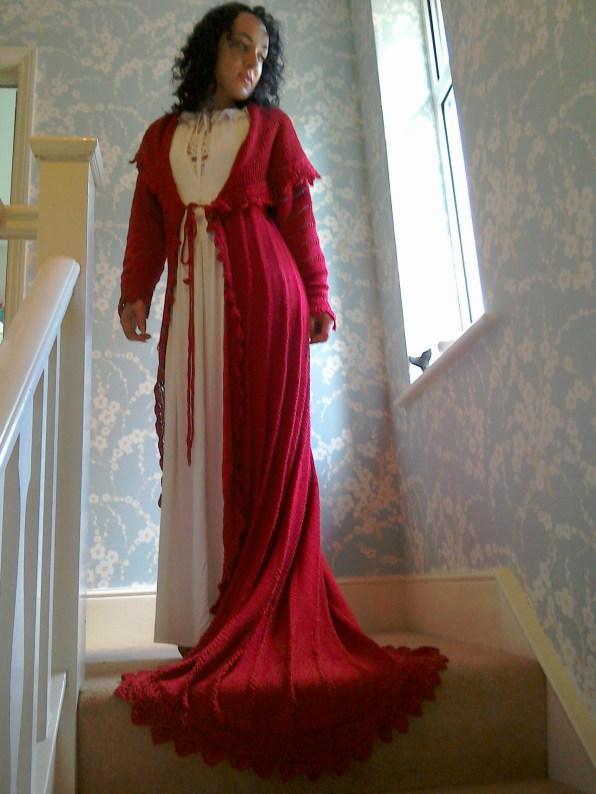 Jennie Atkinson dressing-gown