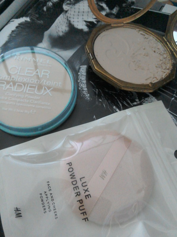 Pressed powder and powder puff replacement