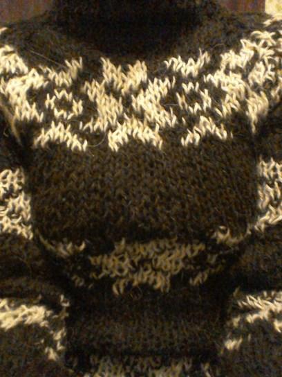 Pattern detail of my series 2 jumper