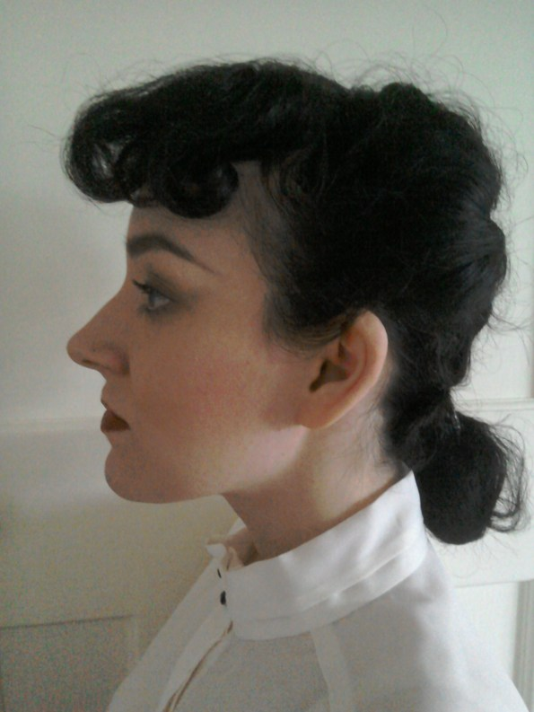 Forties Blade runner hairstyle