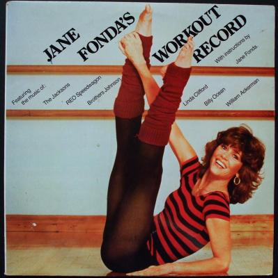 Jane Fonda Workout Record Video Body Image Acceptance
