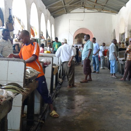 Fish Market Zanzibar Stone Town | The Girl Next Door is Black