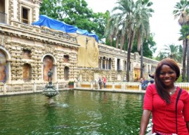 Me at Royal Alcazar