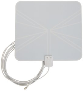 AmazonBasics Ultra-Thin High Performance Indoor HDTV Antenna  Photo cr: amazon.com