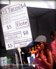 415 Tacos Treasure Island Music Festival 2014   The Girl Next Door is Black