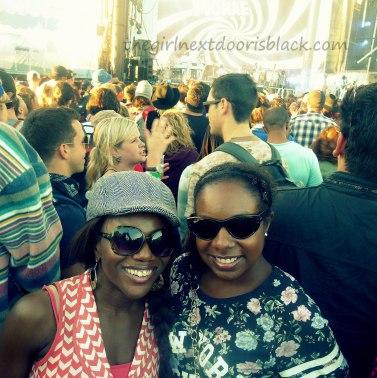 Friends at Treasure Island Music Festival 2014 | The Girl Next Door is Black