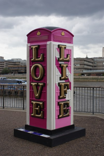 """What Happened to Offline Dating?"" -- Pink Phone Box Long Live Love Life 