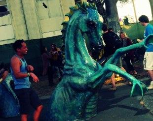 Dragon at Treasure Island Music Festival 2014   The Girl Next Door is Black