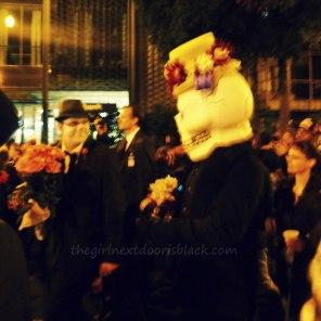Dia de los Muertos San Francisco 2014   The Girl Next Door is Black